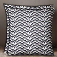 Gris Clair Coussin Imprimé Géométrique Coussin En Popeline De Coton Couverture