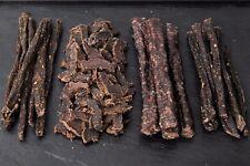 BILTONG Variations (Sticks - Sliced - Bites - Dry Wors) from 250g to 1kg