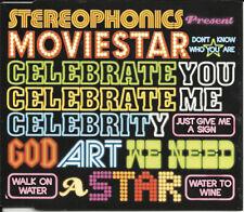 STEREOPHONICS Moviestar & Local Boy LIVE 2TRX CD Single SEALED USA Seller