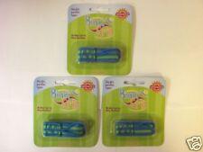 3pcs BooginHead Binki Grip Binky Pacifier Holder Blu/Gr