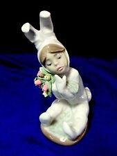 Lladro #1509 Spring Flowers Brand Nib Boy Bunny Cute Tulip $125 Off Free Shiping