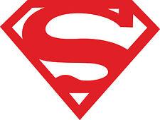 Window Wall Vehicle Vinyl Sticker 80s Super Hero Superman Logo Decal Display