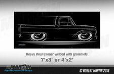 BIG BANNER  '61-'66 Ford F100 F150 Truck 1961 1962 1963 1964 1965 1966 F-100 150