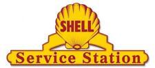 Shell Service Station Metal Sign Man Cave Garage Body Shop Barn Shed