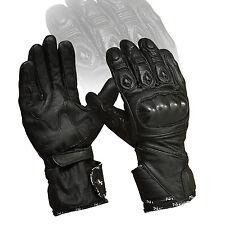 Noir PHALANGES CARBONE PROTECTION ventilé été MOTO articulations coussinets Moto