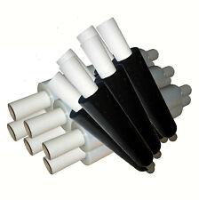 6 Rouleaux 400 mm x 23mu clair Extended Core Stretch Film Rétractable palette Wrap 1.20 kg