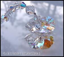 m/w Swarovski Crystal Lily LOGO Clear + AB Star SunCatcher Lilli Heart Designs