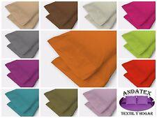 Fundas de almoha de colores 50% algodón / 50% poliester economicas de calidad