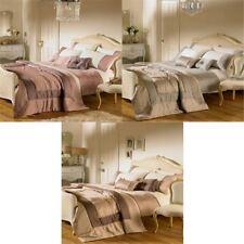 Riva Home Romantica Embellished Satin Cuff Duvet Cover Set
