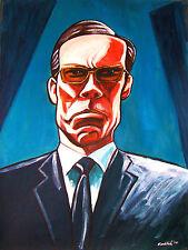 THE MATRIX MOVIE PRINT poster agent smith hugo weaving revolutions sunglasses