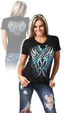"""Official TNA Velvet Sky """"Sky's the limit"""" Impact Wrestling Ladies T-Shirt"""