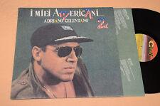 CELENTANO LP I MIEI AMERICANI 2(TRE PUNTINI)1°ST ORIG 1986+TESTI TOP EX