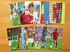 FC Bayern Munich Autograph Older Cards Original Signed 1 Ak Select