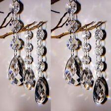 30pc Wedding Acrylic Garland Diamond Crystal Bead Chandelier Hanging Decoration