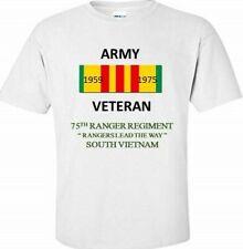 75TH RANGER REGIMENT* RANGERS LEAD THE WAY* VIETNAM VETERAN RIBBON SHIRT/SWEAT