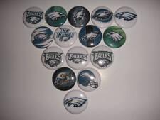 Philadelphia Eagles flat back buttons or pin badge embellishments magnets