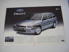 advertising Pubblicità 1995 FORD ESCORT