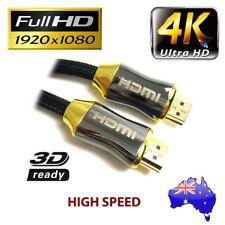 5m Hdmi Mini Cable Alta Velocidad Con Ethernet Full HD Dorado M//M
