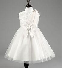 Zara Baby Flower Girl Formal Dress Christening Baptism Wedding Bridesmaid Gown