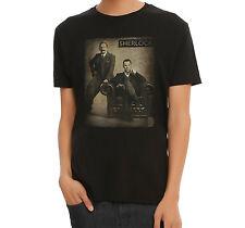 BBC Sherlock SEPIA PHOTO T-Shirt NWT Licensed & Official