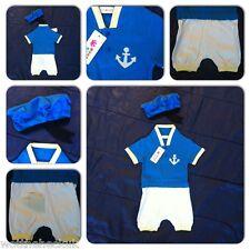 Baby Boys Toddler Sailor Romper Outfit Duck Kids Girls Infant Playsuit Jumpsuit