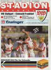 BL 91/92 VfB Stuttgart - Eintracht Frankfurt