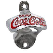 TableCraft Coca-Cola / Coke Wall Mount Stationary Bottle Opener