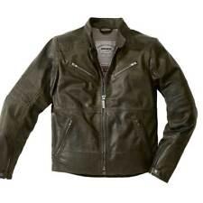 Spidi Garage Motorbike Motorcycle Leather Jacket Titanio