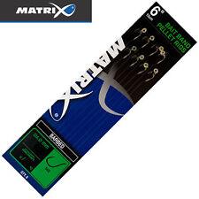 Fox Matrix Bait Band Pellet Rigs - 8 gebundene Haken, Vorfachhaken, Angelhaken