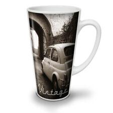 Car Retro Funky Vintage NEW White Tea Coffee Latte Mug 12 17 oz | Wellcoda