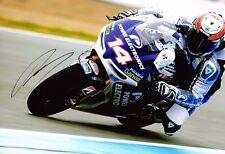 Randy De Puniet SIGNED Genuine Autograph MotoGP Aspar Team 12x8 Photo AFTAL COA
