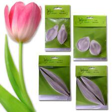Tulip Leaf & Petal Veiner Silicone Flowers ALDAVAL Sugarcraft Cake Decorating