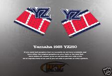 VINTAGE LIKE NOS 1985 YAMAHA YZ125 TANK GRAPHICS