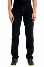 Dolce & Gabbana Men's Blue Corduroy Casual Pants Size 28 30