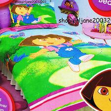 Dora the Explorer - 3 Butterflies - Single/Twin Quilt Doona Duvet Cover Set