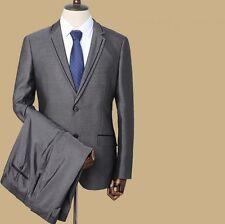 Élégant costume vesstito homme complet gris veste pantalon gris 1001 9f0f115d856