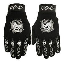 Punk Skull Biker Hardcore Totenkopf Fahrrad Handschuhe Arbeitshandschuhe Gloves