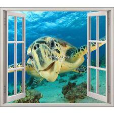 Adesivo finestra decocrazione Tartaruga ref 5423 5422