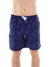 CMP Boardshort surfshort maillot bleu poches lacets Camouflage