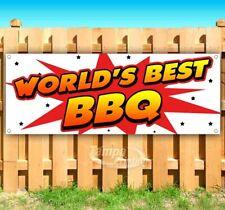New listing World'S Best Bbq Advertising Vinyl Banner Flag Sign Many Sizes Usa