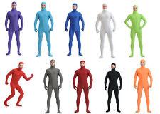 Headless Lycra Spandex Full Body Zentai Skin Tight Costume Bodysuit cosplay