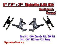 """1982 -05 Chevrolet S-10 S10 / GMC S-15 Sonoma Blazer Jimmy 3"""" / 2-3"""" Lift Kit"""