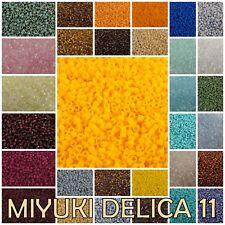 Delica 11/0 Miyuki Japanese Glass Seed Beads 1581-1694