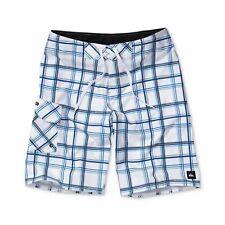 Quiksilver Men's Board Shorts Paid in Full Plaid Swim Suit