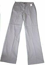 Gf) pantalones a rayas blanco fino azul oscuro baumwollmischung Gaddis nuevo