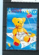 GREETINGS STAMP SLOVENIA 2000 Orsetto Teddy Bear