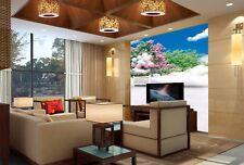 3D Garten Ballon Wolken 96 Tapete Wandgemälde Tapete Tapeten Bild Familie DE