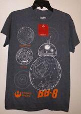 NEW GENUINE STAR WARS THE FORCE AWAKENS BB-8 ASTRO DROID T SHIRT NWT XL BB8