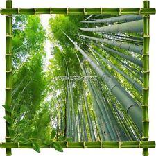 Aufkleber Sticker Rahmen Bambus Wald von Bambus 7213