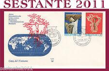 VATICANO FDC ALA 106 1971 LOTTA CONTRO RAZZISMO E DISCRIMINAZIONE RAZZIALE  (62)
